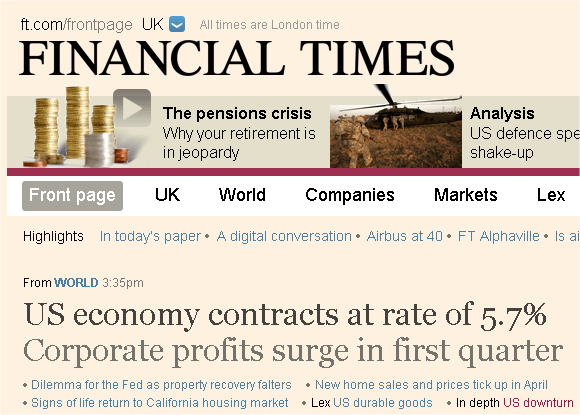 counter-cyclical profits