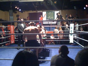 Chess boxing at The Dome